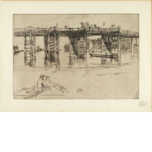 Lot 4 - James McNeill Whistler (1834-1903)