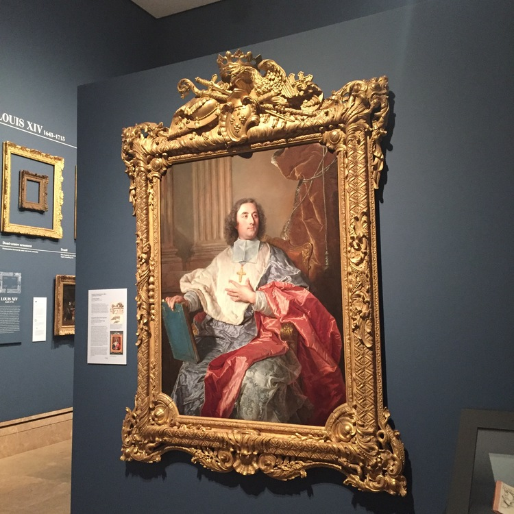 French Louis Frames at The Getty Center — Suzanne Smeaton Frame ...