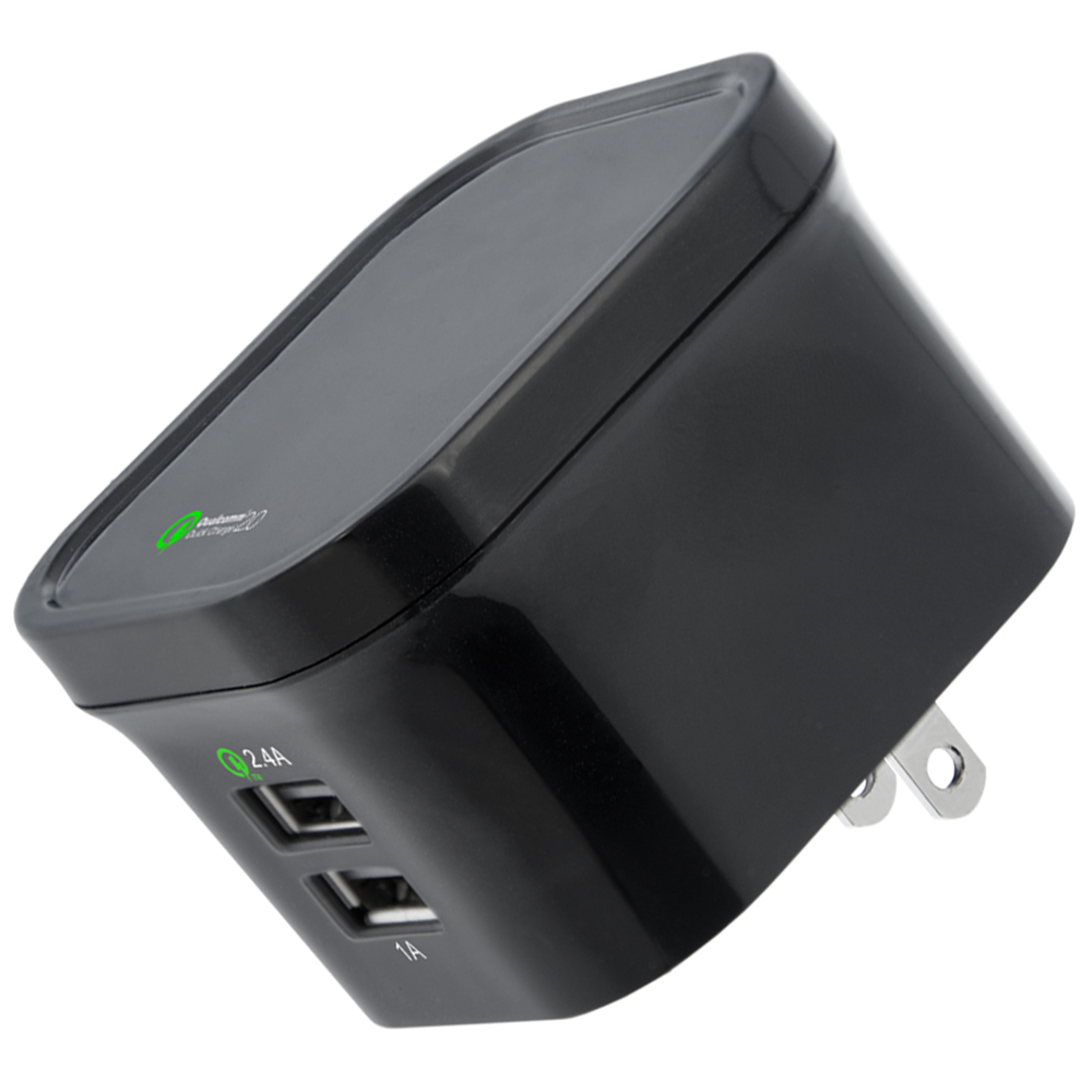 HIGH POWER 3.4 AMP QUALCOMM QUICK CHARGE WALL CHARGER WITH USB PORT