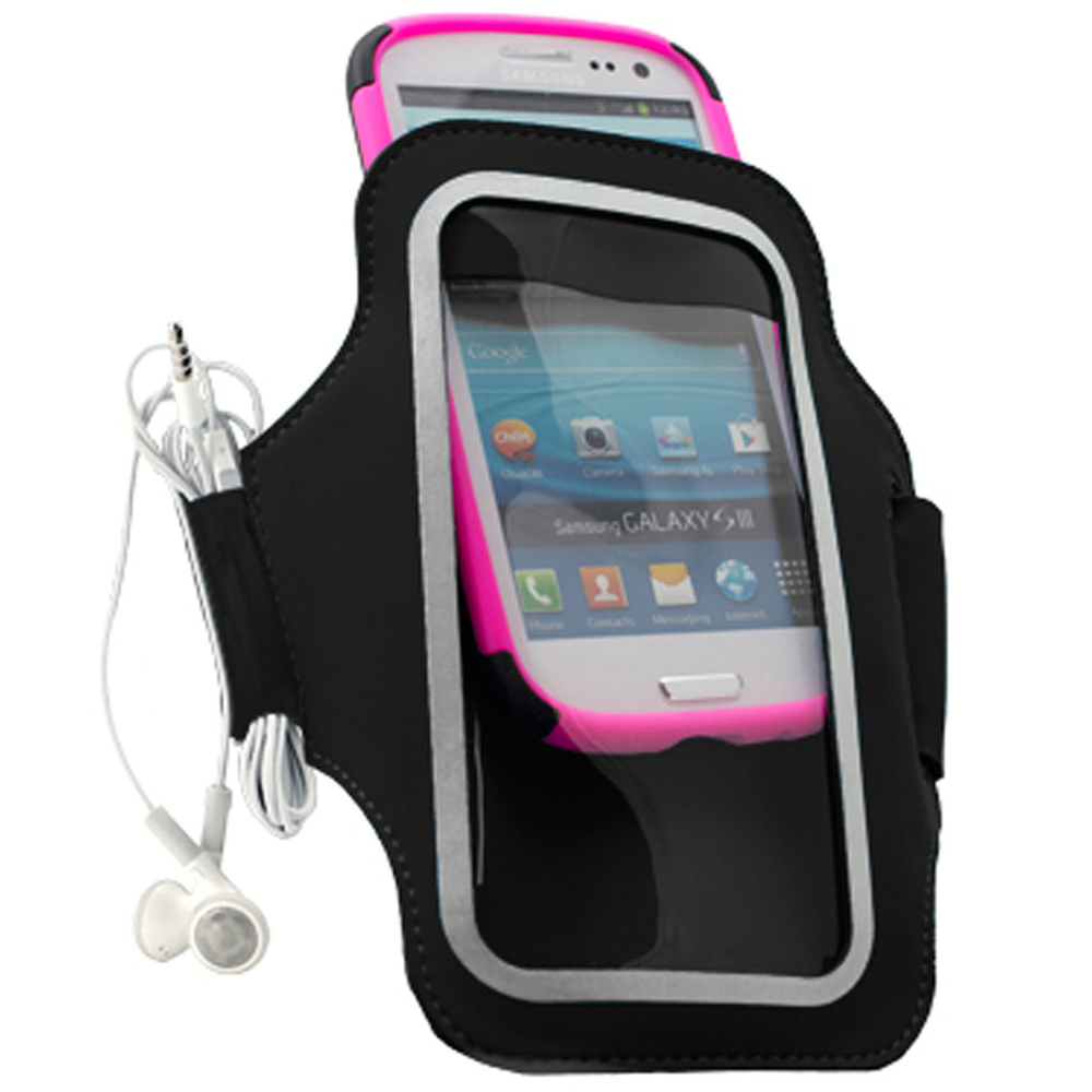 "UNIVERSAL CASE FRIENDLY ARMBAND FOR LARGER PHONES UP TO 3.25"" WIDE"