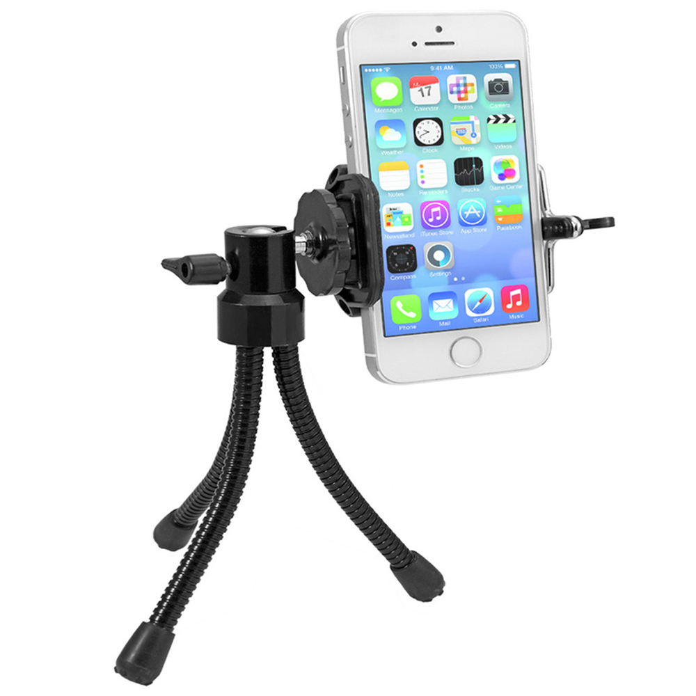 FLEXIBLE MINI TRIPOD & STAND