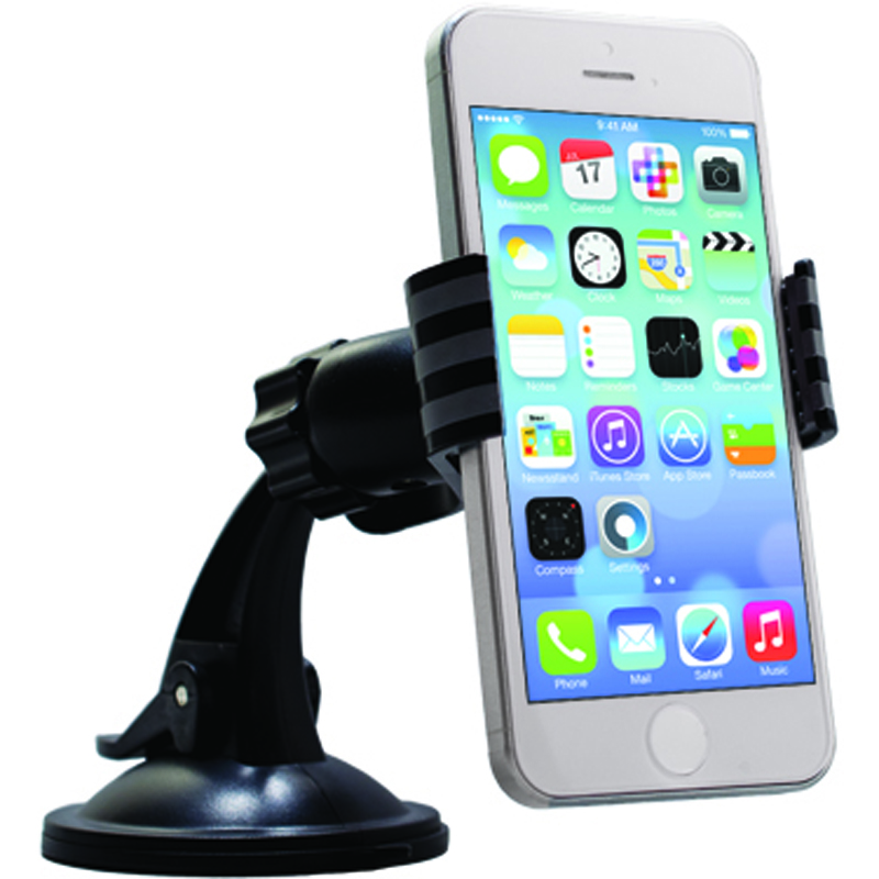 UNIVERSAL DASHBOARD WINDSHIELD CAR MOUNT FOR SMARTPHONES
