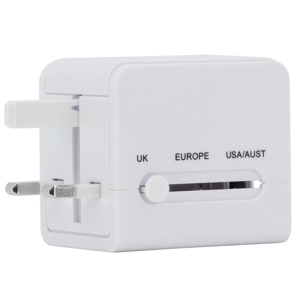 TRAVEL ADAPTER AND USB CHARGER