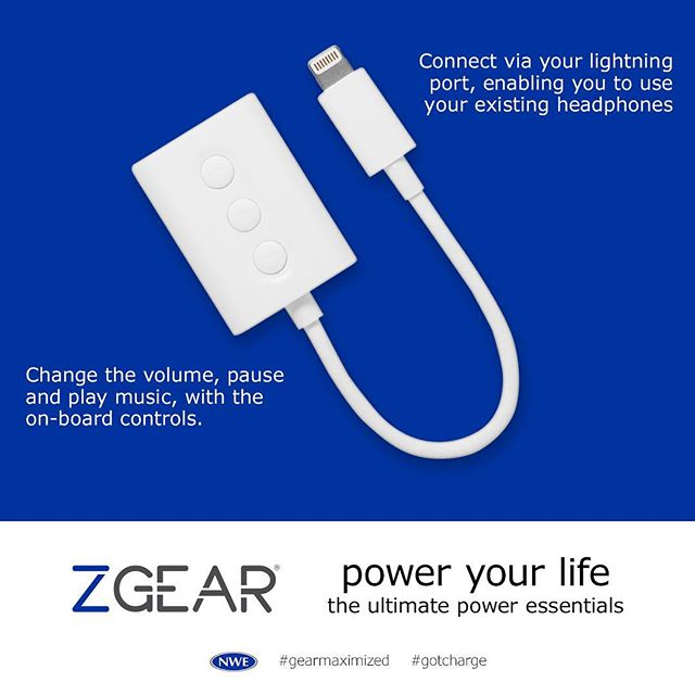 Sound of silence? No way, we need to jam! #zgear Lightning adapter. http://ow.ly/s43c30hRJBE