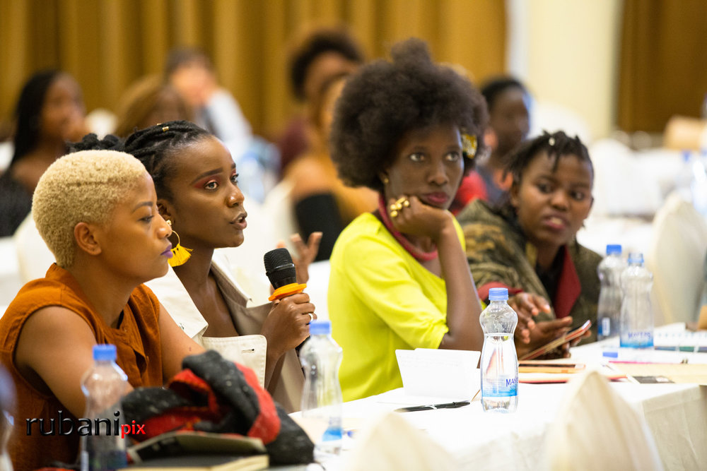 Inspire & Uplift - Kenyan students ask thought - provoking questions about how to navigate and excel at their budding fashion careers.