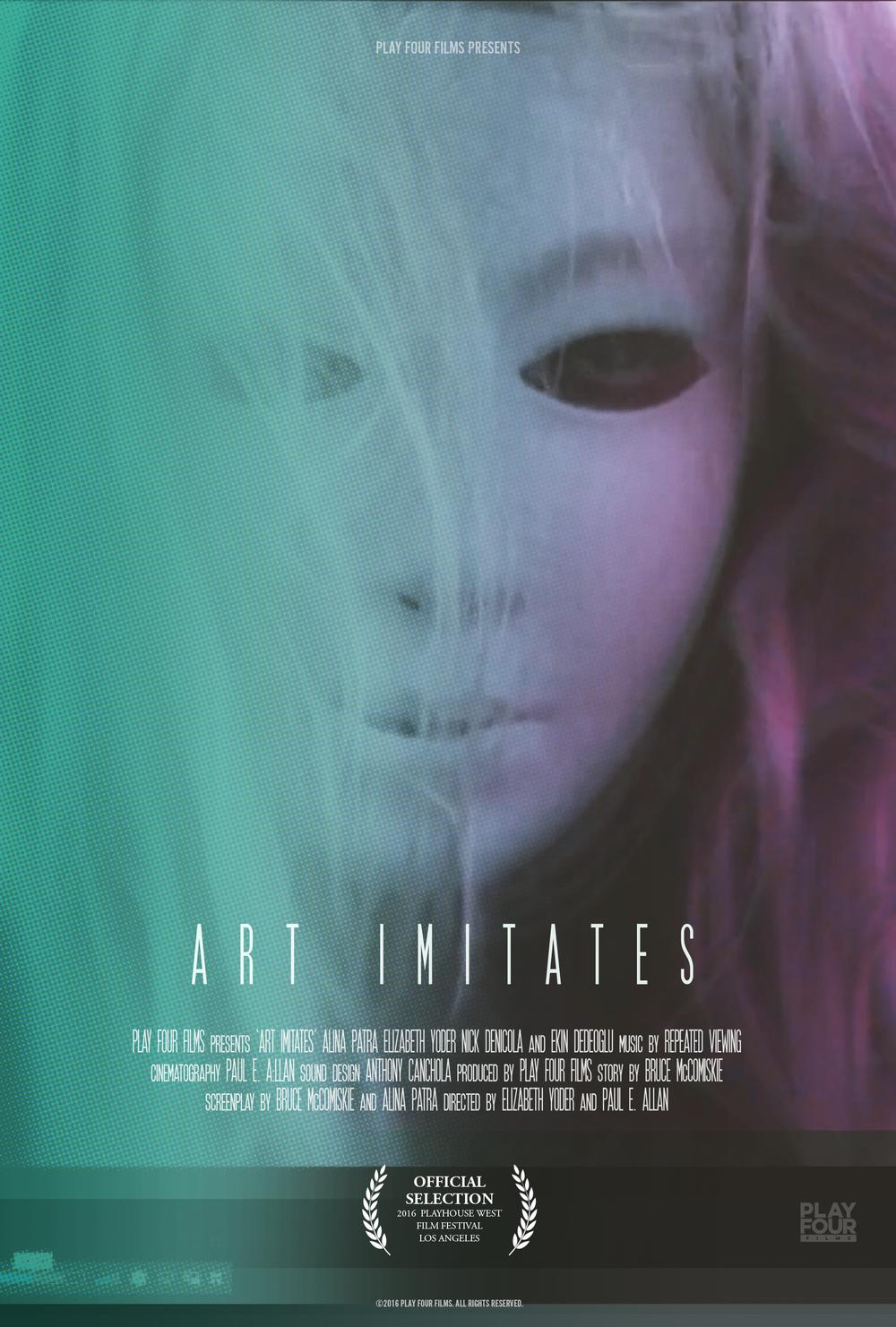 Art Imitates Poster