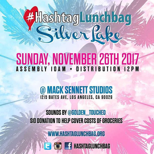 Tomorrow, we join forces with our friends @hashtaglunchbag to launch a new chapter in #SilverLake! Come one, come all & join us fellow sneezers in giving back to feed the homeless in this community. #livingthroughgiving #hashtaglunchbagla #spreadlove #weareallthesame #blessyou  #humanityfirst