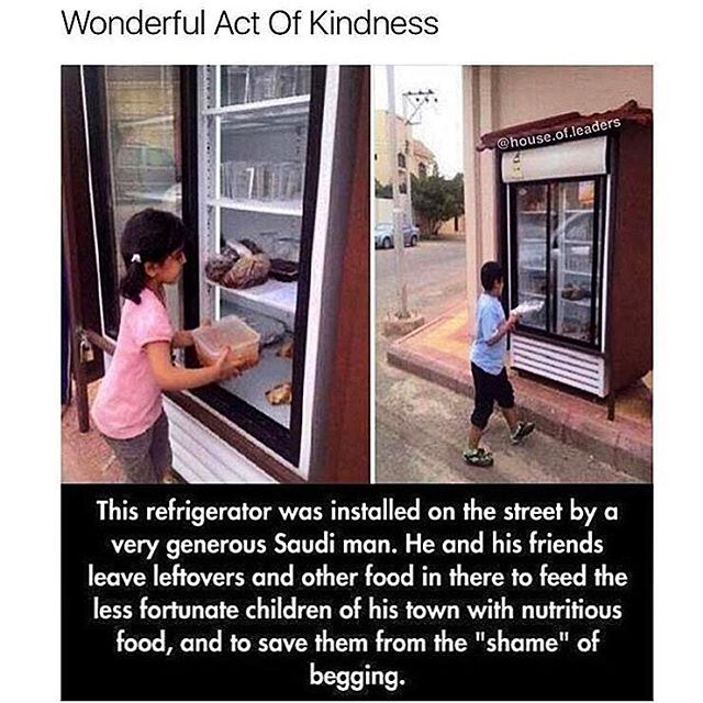 No act of kindness is too big or too small. What act of kindness will you do today?  #weareallthesame #unityindiversity #hungerisstupid #spreadlove #sneezeframe #humanityfirst #blessyou