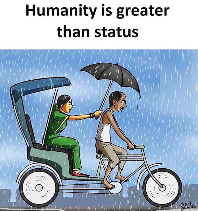 Let's be grateful for one another and never forget that #weareallthesame. The rain doesn't last forever and don't ever let a moment pass that you can be a ray of light or umbrella for someone else who needs it. ☔️❤️🌞 #kindnessistimeless #spreadlove #loveissoeasytogive #humanityfirst #sneezeframe #unityindiversity #blessyou
