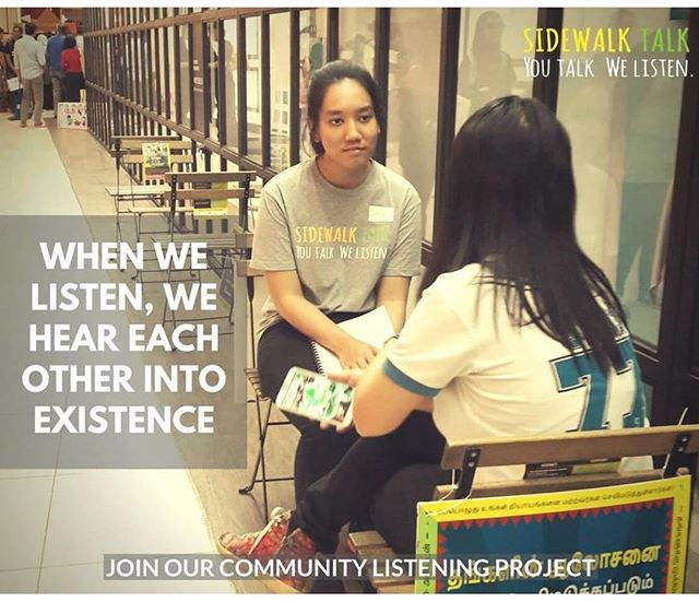 #Blessyou @sidewalktalkorg for creating a platform for anyone who wants to be heard. The most important and vulnerable thing we can do is to be SEEN and SEE others for who we truly are. We are love. We are one. We are all the same. Look for this awesome non profit in your city! 🙌🏼❤️👂🏼 #sidewalktalk #sneezeframe #humanityfirst #unityindiversity #weareallthesame