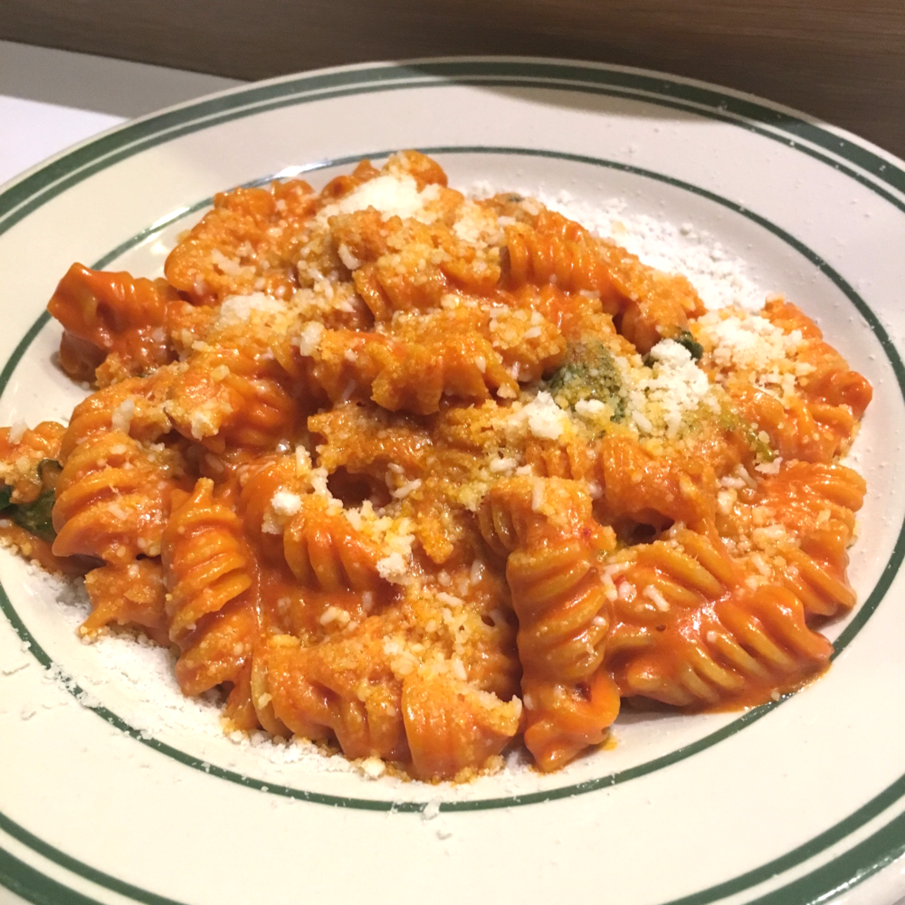 Spicy Fusilli Vodka - Yes please.