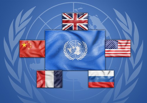 Five permanent members of the UN Security Council