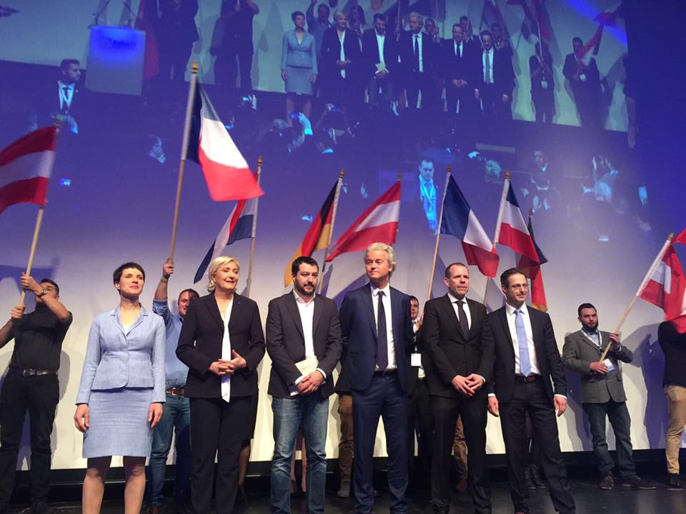 Wilders, le Pen, Frauke Petry and more at the ENF conference in Koblenz