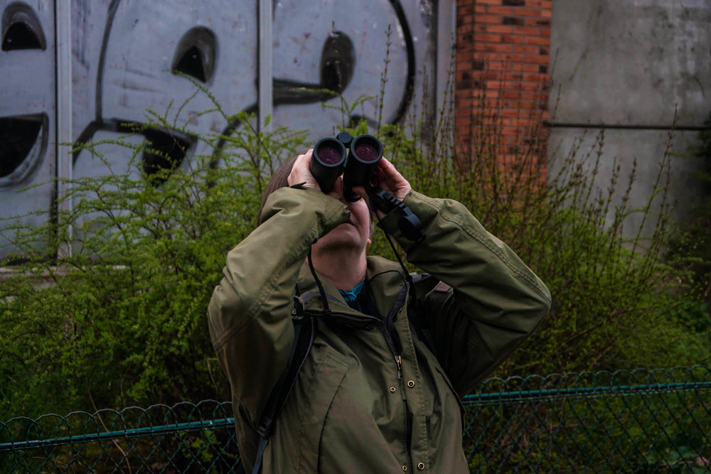 Birdwoman - Mathilde Saliou takes you on a day of birding with the passionate birdwatcher Isabelle Giraud in Paris.