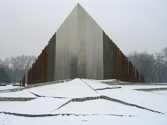 Photo of the 1956 Revolution Monument in Budapest, by John Floyd