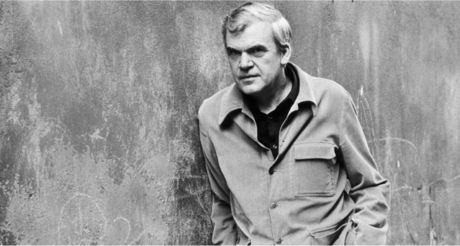 Milan Kundera, 1980. Photo:  The Paris Review