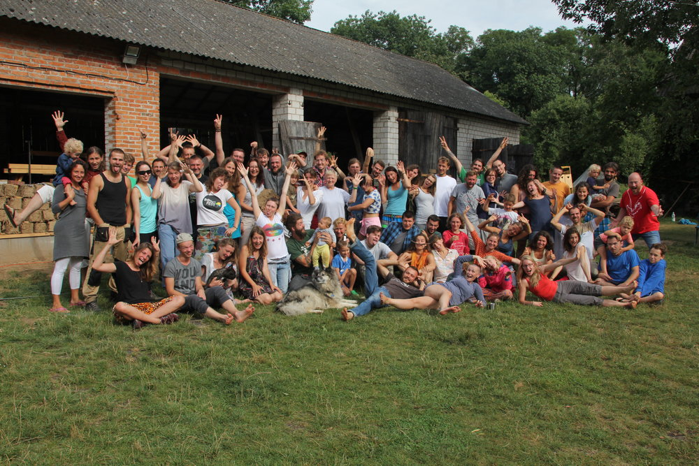 The Creators Troop during last summer's workshops. Photo by Osada Twórców.