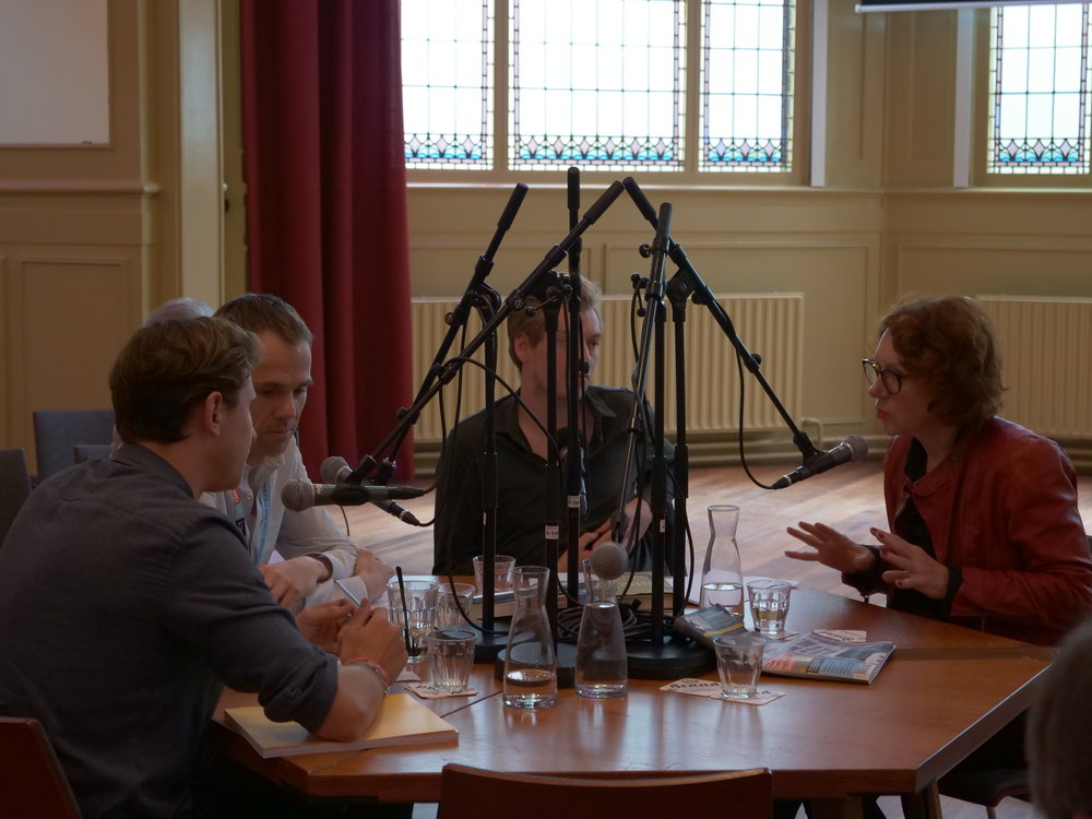Our founder Kyrill Hartog in a live podcast session with Luuk van Middelaar & Ulrike Guerot.