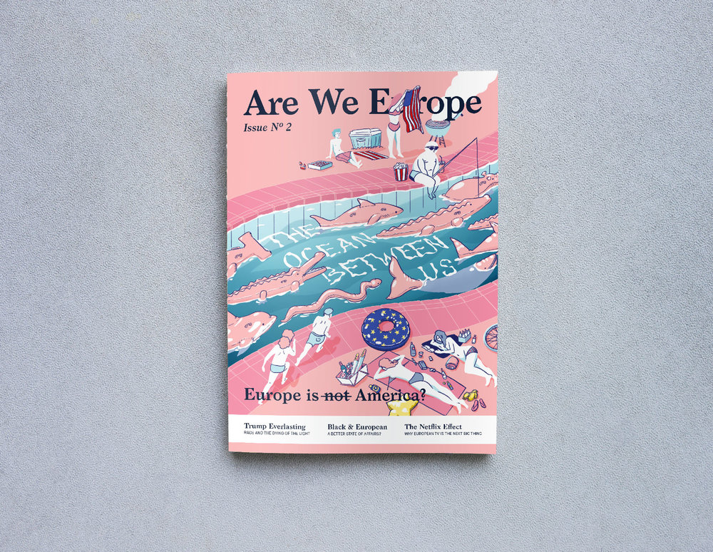 "The Ocean Between Us - Europe is n̶o̶t̶ America? Our new issue on ""transatlanticism"" dives into the social, historical and cultural forces shaping the relationship between Europe and the US."