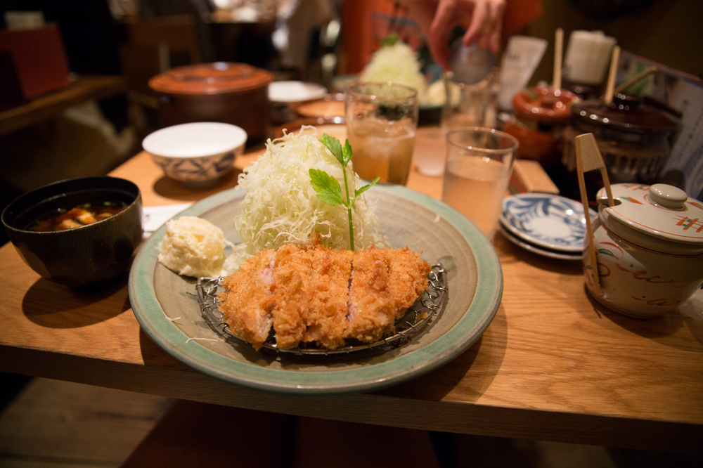 Pork katsu at Katsukura