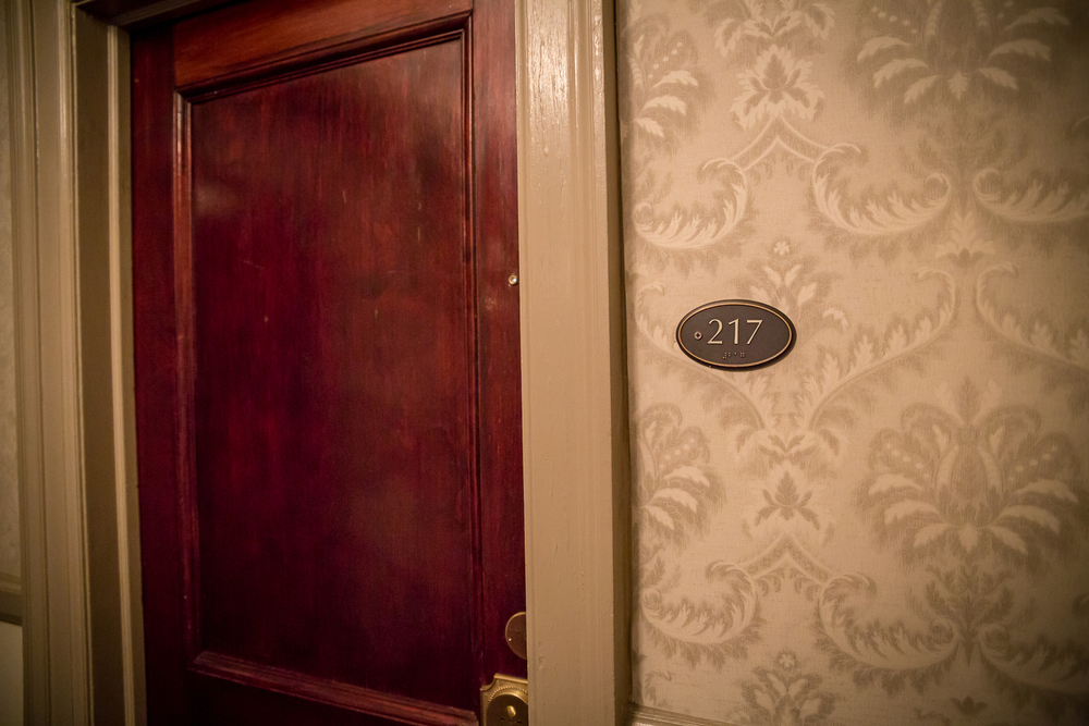 The haunted Room 217 at the Stanley Hotel