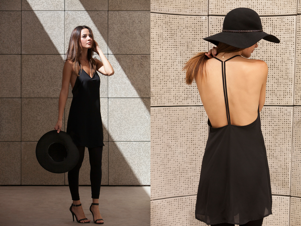 T-STRAP DRESS BY SHOPWANTLIST