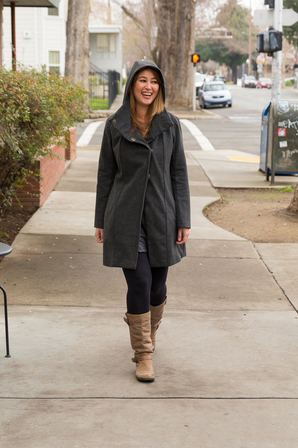 Melissa Fleis' All Day Coat