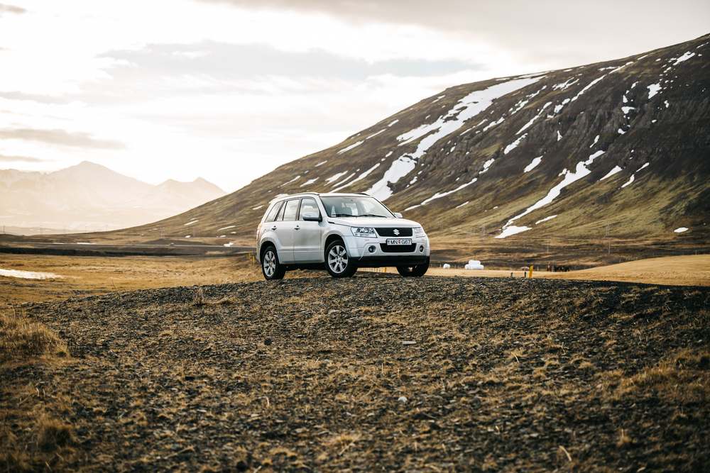 Highly recommend getting a 4WD vehicle in Iceland