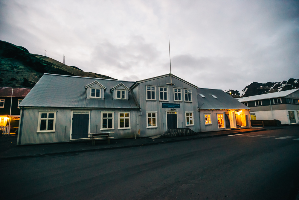 Halldorskaffi restaurant in Vik
