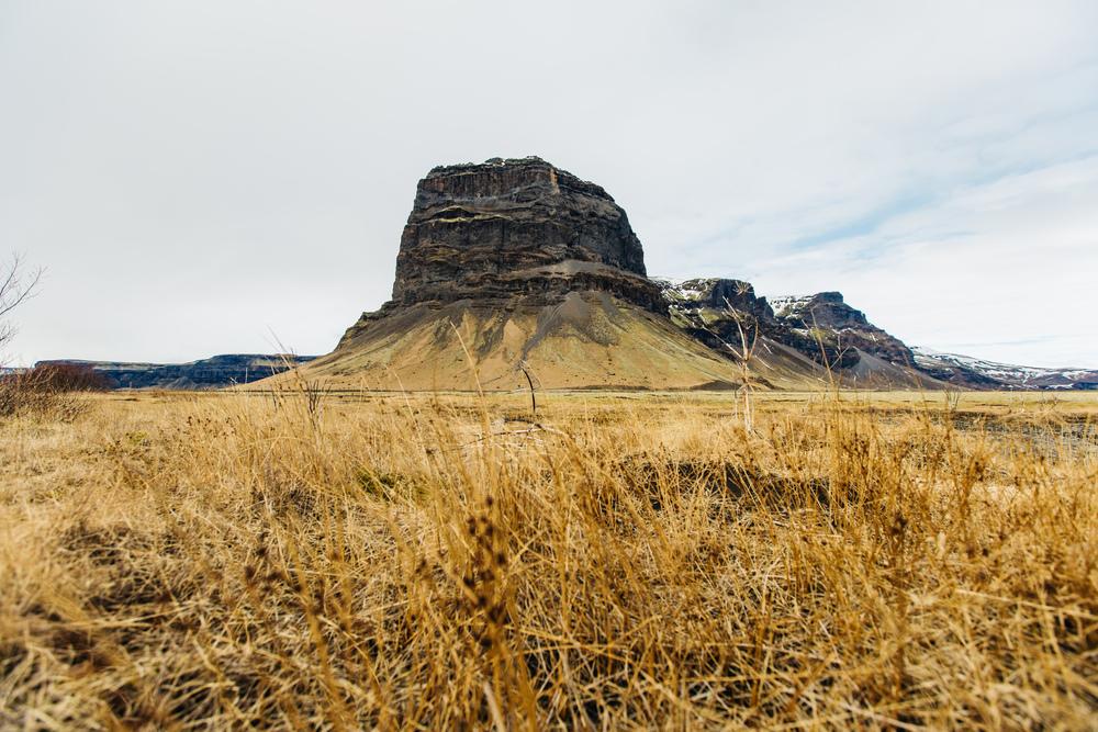 Iceland Big Rock Iceland Mountains www.thetravelpockets.com