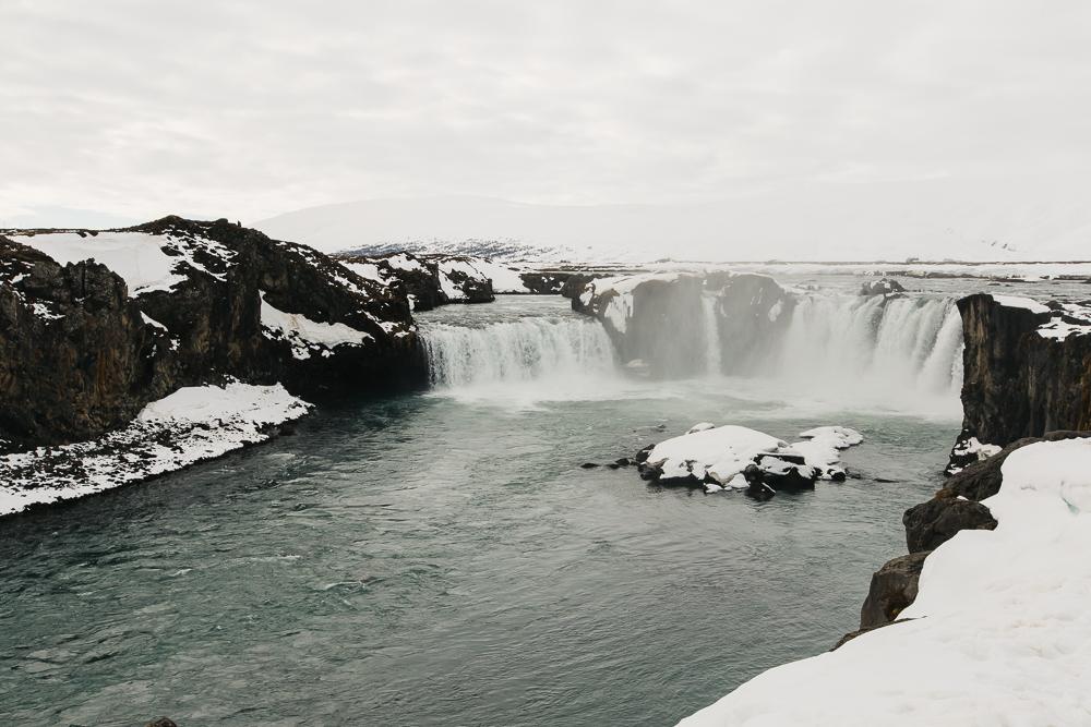 "Godafoss - ""Waterfall of Gods"""