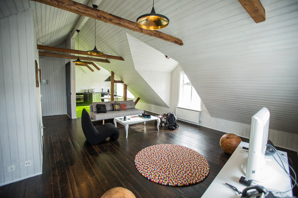Airbnb loft in Reykjavik