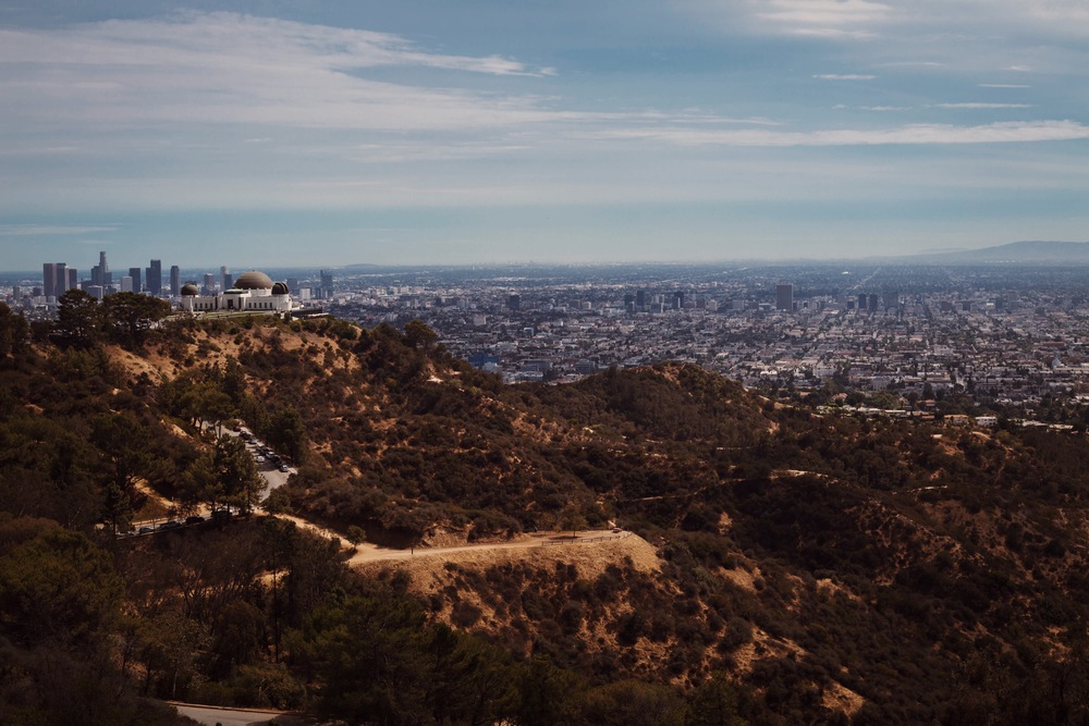 VIEW OF THE GRIFFITH OBSERVATORY