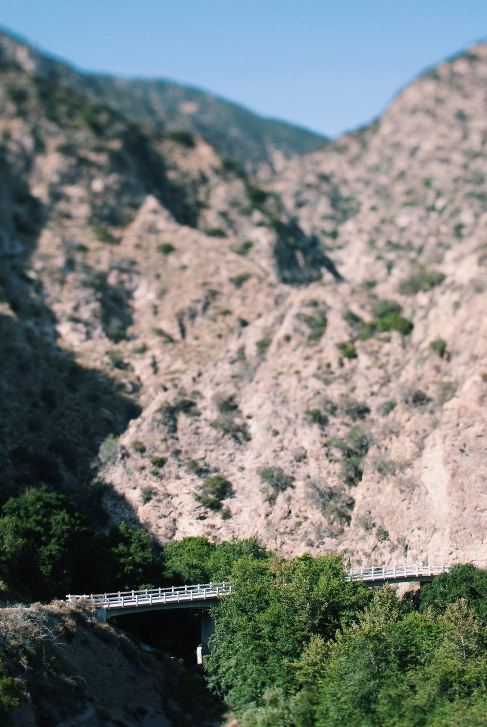 VIEW OF THE BRIDGE AT EATON CANYON (PHOTO BY JOSHUA CAINE