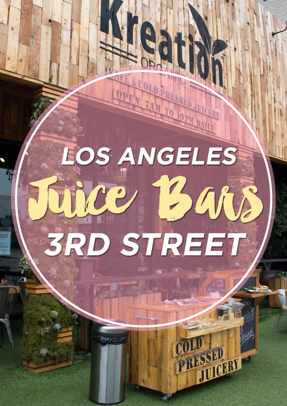 LA juice Pinterest www.thetravelpockets.com