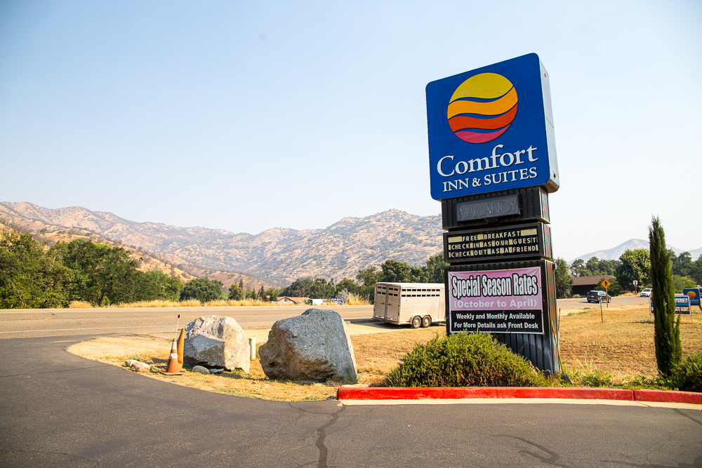 Comfort Inn, Three Rivers, California
