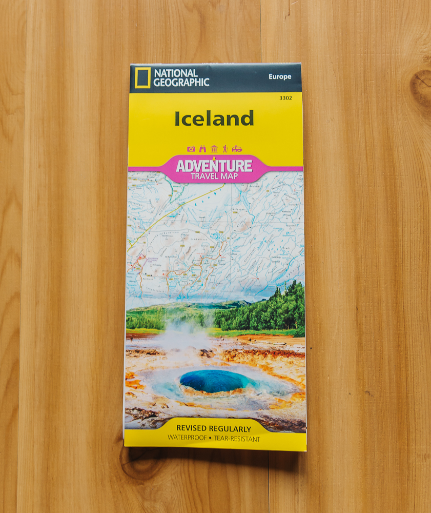 Iceland map www.thetravelpockets.com