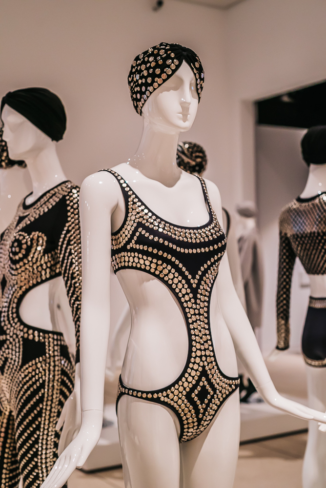 TMA Norma Kamali suit www.thetravelpockets.com