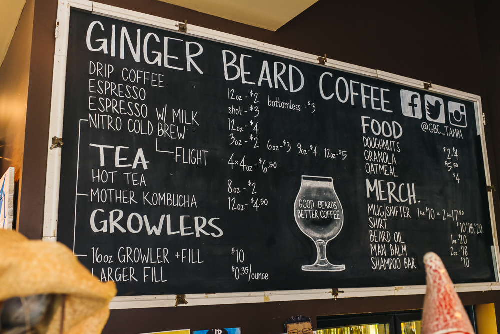 Ginger Beard Coffee www.thetravelpockets.com