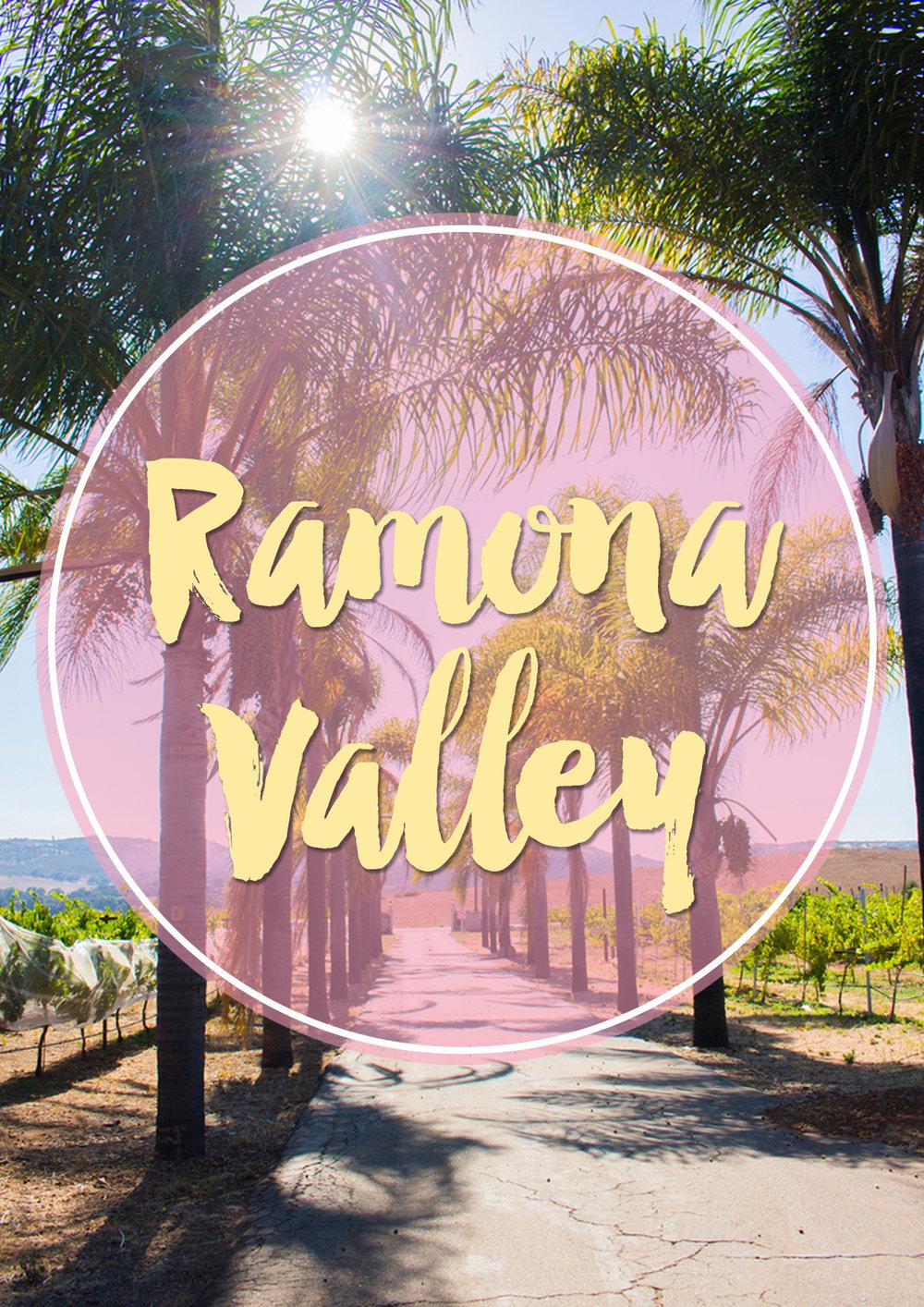 Pinterest Ramona Valley www.thetravelpockets.com