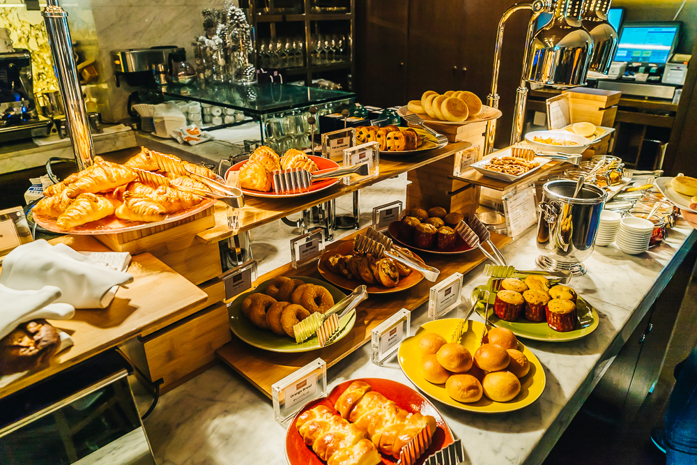 Breakfast buffet at Cerise