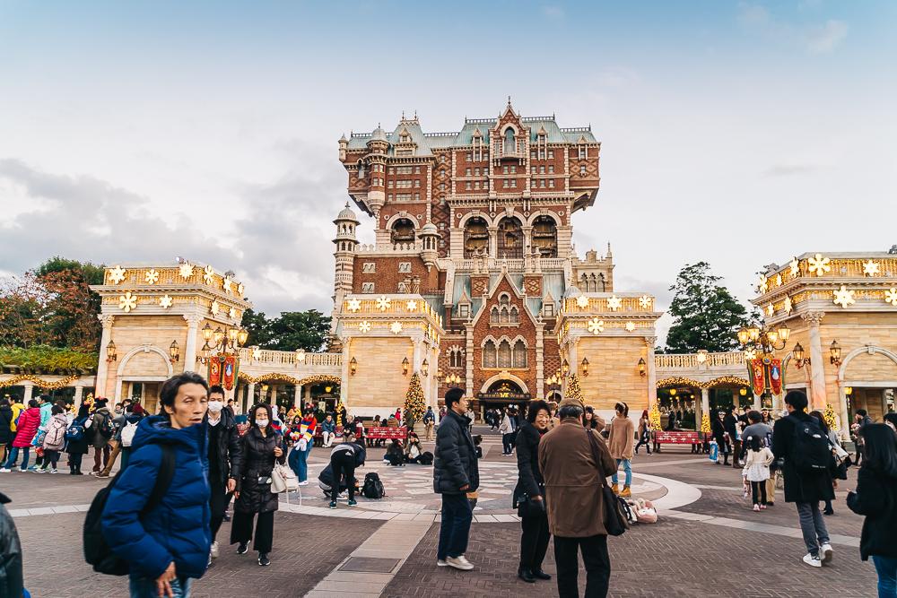 DisneySea's Tower of Terror