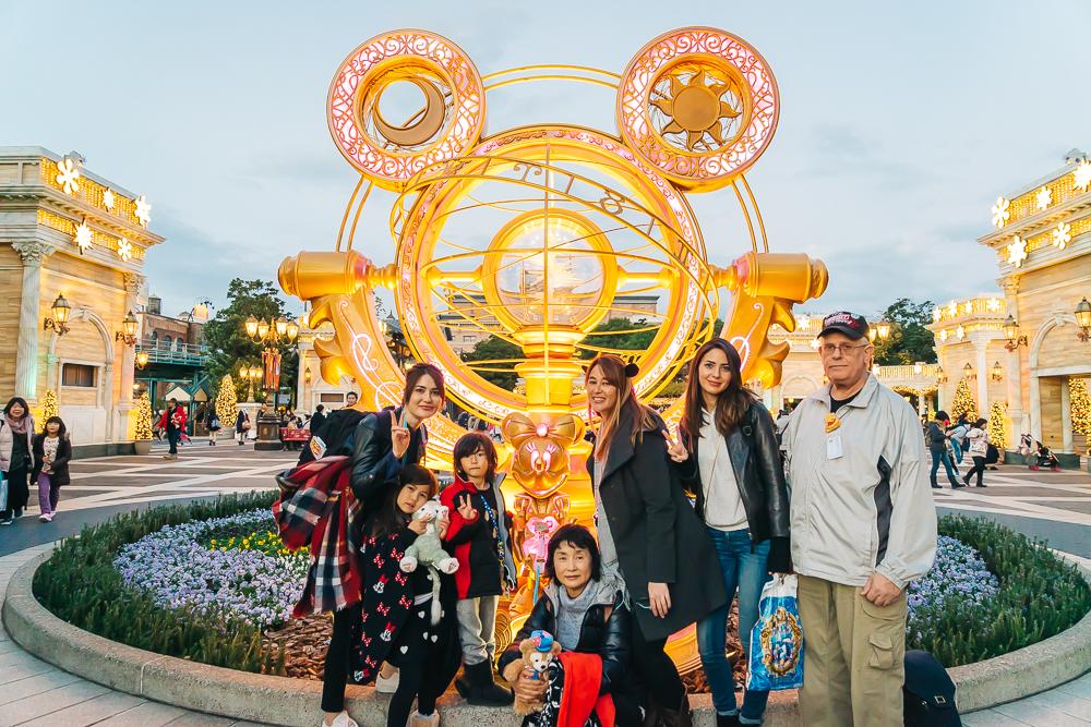 Tokyo DisneySea 15th Anniversary sculpture