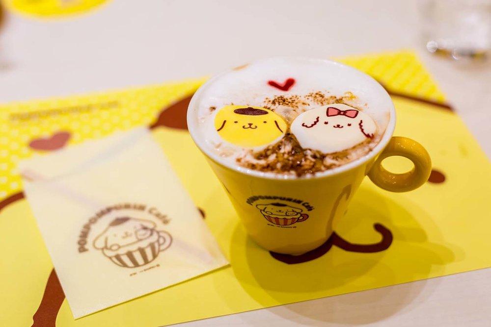 The cutest caffe latte