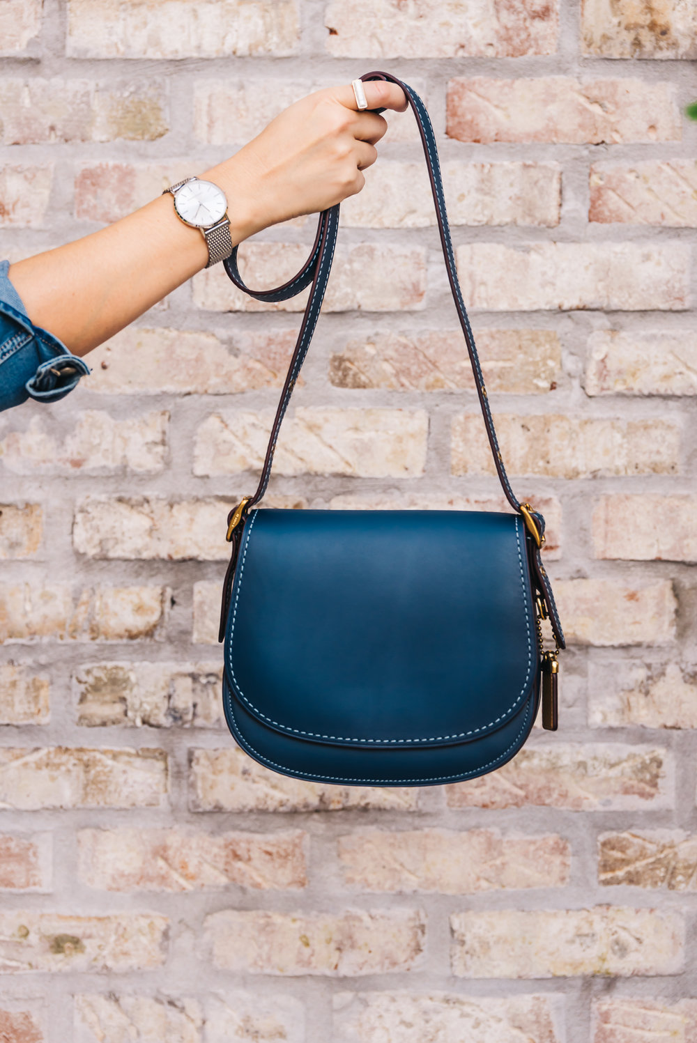 30200936f59c My Travel Purse Obsession  The COACH Saddle Bag - Travel Pockets