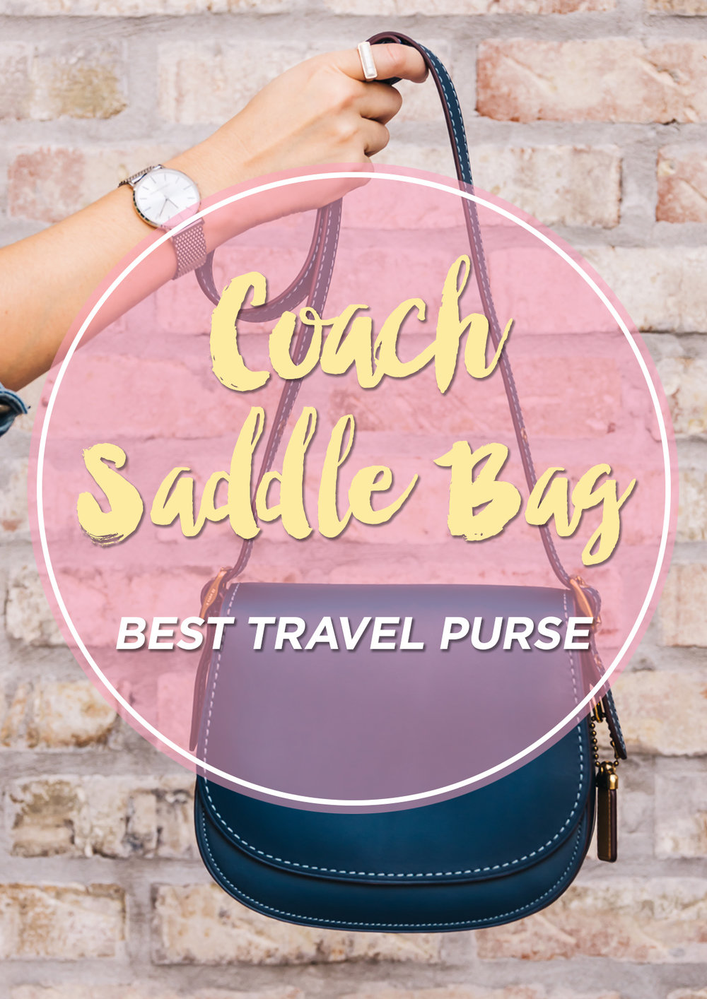 Pinterest Coach Purse + www.thetravelpockets.com