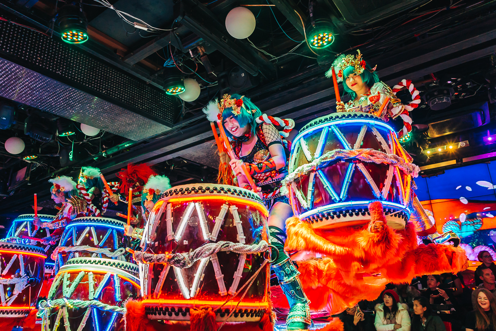 Crazy show at Robot Restaurant