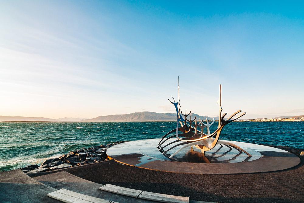 Reykjavik - The Sun Voyager