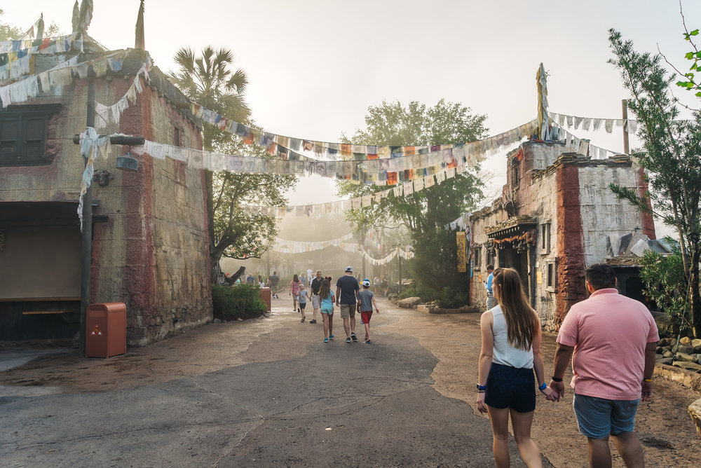 Animal Kingdom Asia entrance