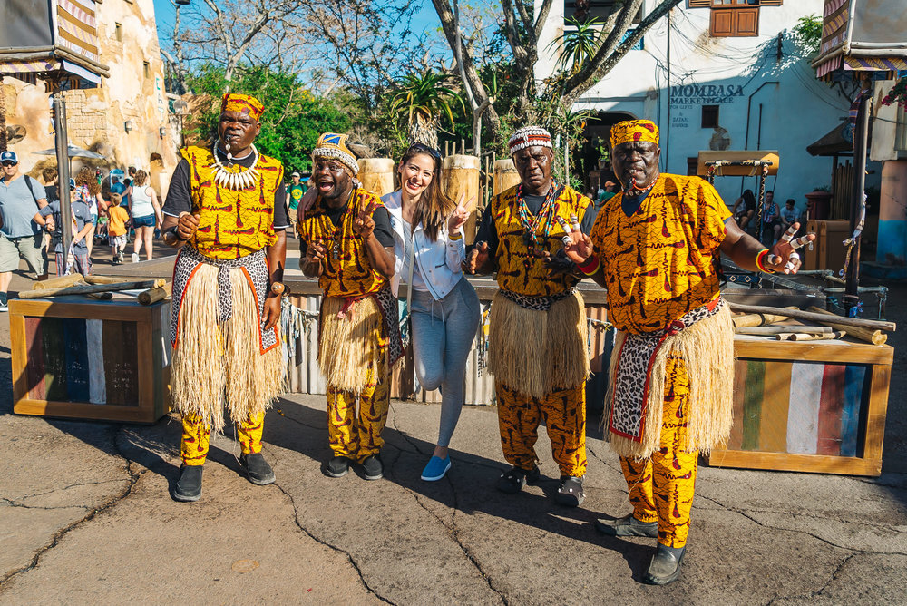 These African dancers are a must-see when visiting Animal Kingdom